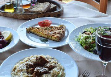 Bioporos organic farm restaurant menu photo