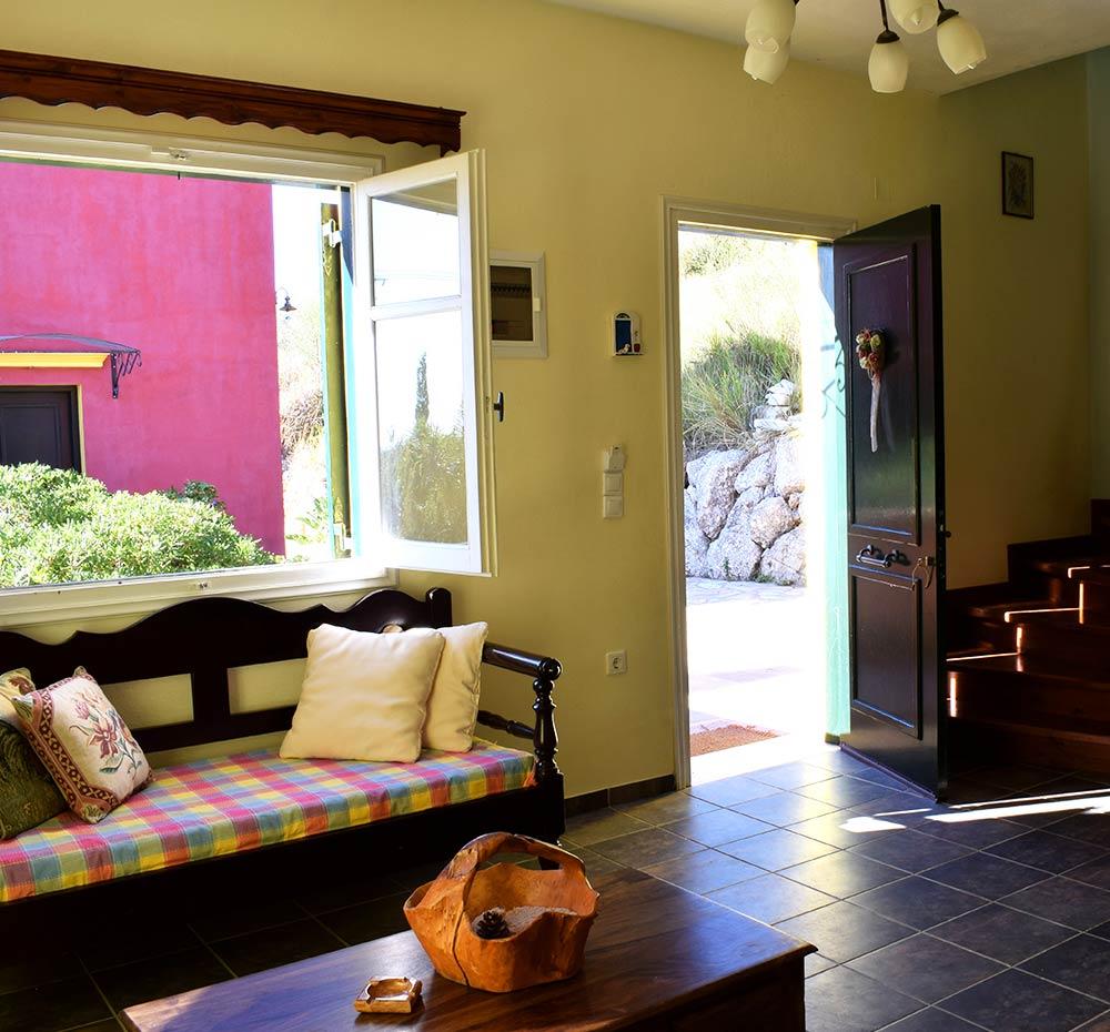 Bioporos Organic Farm Ecotourism house in Corfu